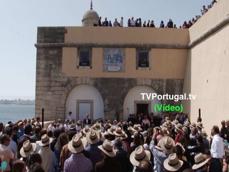 Abertura do Forte de Santo António da Barra, 25 de Abril de 2018, Carlos Carreiras, Marco Perestrello, Cascais, Televisão, Portugal