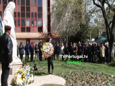 Cerimónia Comemorativa, 100.º Aniversário da Batalha de La Lys, Pedro Morais Soares, Carlos Carreiras, Cascais, Televisão, Portugal