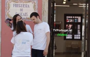 Semana do Voluntariado Jovem, Mário Silva, Presidente Associação Portuguesa Contra a Obesidade Infantil, Cascais, Televisão, Portugal, Pedro Morais Soares, Junta de Freguesia Cascais Estoril