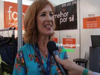 Stock & Fashion Market, Expositores, Ana Farinha, Associação Empresarial do Concelho de Cascais, Armando Correia, Televisão, Portugal, Cascais
