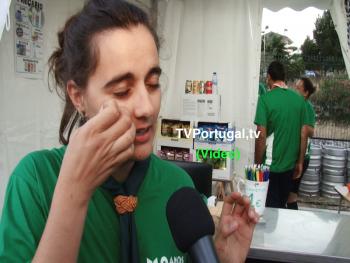 Festas de Carcavelos e Parede 2018, Patrícia Bento, Escuteiros do Murtal, Nuno Alves, agrupamento 1240 do Murtal, Televisão, Cascais, Portugal