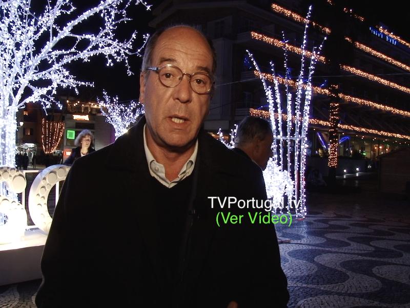 Mensagem de Natal, Carlos Carreiras, Presidente Câmara Municipal de Cascais, Natal 2018, Cascais, Televisão, Portugal, Baía de Cascais