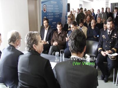 DOCAPESCA, C.M. Cascais, Assinatura do Protocolo, Nuno Piteira Lopes, António Ramos, Associação Armadores e Pescadores Cascais, Televisão, Portugal