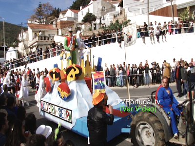 Está (quase) Tudo Aqui, Desfile de Carnaval 2019, Malveira da Serra e Janes, Carlos Carreiras, José Filipe Ribeiro, Pedro Morais Soares, Televisão, Portugal
