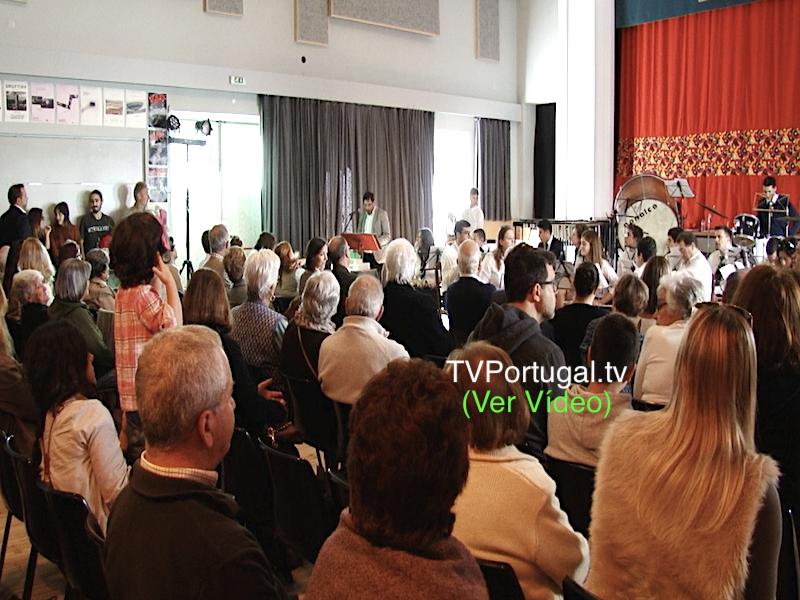 120.º Aniversário da SMUP, Sociedade Musical União Paredense, Joana Pinto Balsemão, Carlos Carreiras, Cascais, Televisão, Portugal