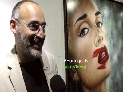 """""""O Brilho em Ti"""" Galeria de Arte do Casino Estoril, Gustavo Fernandes, Cascais, Televisão, Portugal, Galeria de Arte, Reportagem"""