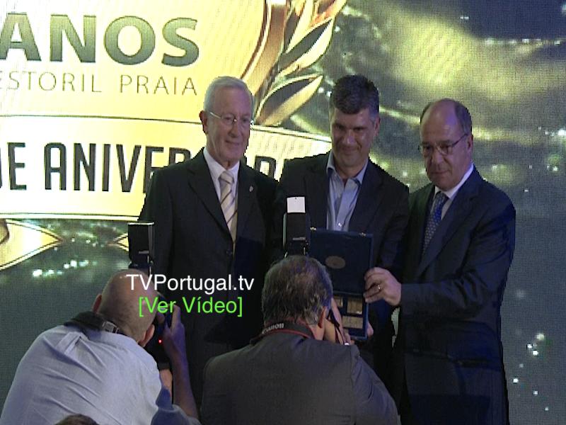 Gala dos 80 Anos do Grupo Desportivo Estoril Praia, Alexandre Faria, Carlos Carreiras, Hotel Palácio, Cascais Televisão, Portugal