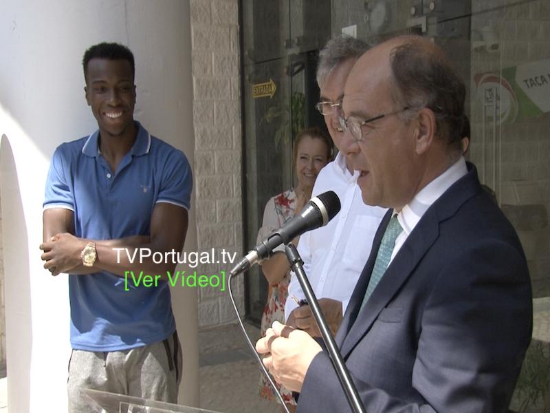 Inauguração de Projecto Orçamento Participativo no Pavilhão dos Lombos, Joana Pinto Balsemão, Cascais tv, Televisão, Portugal