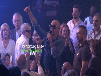 """Pedro Abrunhosa no Casino Estoril, com a """"Benção"""" de Júlio Isidro, Cascais, Televisão, Portugal, Grandes Concertos do Casino"""