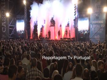 Festas de Carcavelos & Parede 2019, Nuno Alves, Presidente da União de Freguesias, Cascais tv, Televisão, Portugal, Paulo de Carvalho