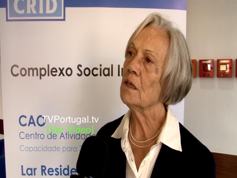 1.ª Fase do Complexo Social do CRID Foi Inaugurado dia 26 Outubro, Lurdes Rocha Vieira, Carlos Carreiras, Cascais tv, Portugal, Televisão