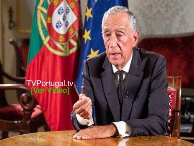 Mensagem do Presidente da República, Eleições Legislativas 2019, Marcelo Rebelo de Sousa, Cascais tv, Portugal, Televisão