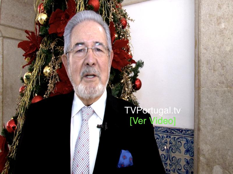 Mensagem Natal 2019, Isaltino Morais, Presidente CM Oeiras, Portugal, Televisão, Reportagem, Oeiras, Natal, Câmara Municipal