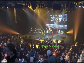 Celebração do Ano Novo 2020 | Casino Estoril | Salão Preto e Prata, Portugal, Cascais, Televisão, Reportagem, Companhia Feist
