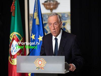 Marcelo Rebelo de Sousa, Declaração do Estado de Emergência, Presidente da República, Cascais, Portugal, Televisão, Reportagem