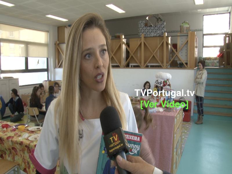 Ludobiblioteca da EB Oliveira Marques | Funny Cook | Mafalda Teixeira, Cascais, Portugal, Televisão, Reportagem, Pedro Morais Soares
