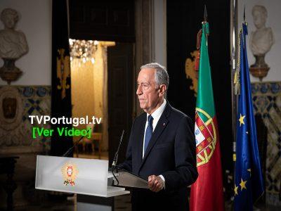 Mensagem do Presidente da República ao País sobre a renovação do estado de emergência, Marcelo Rebelo de Sousa, Portugal, Televisão, Cascais