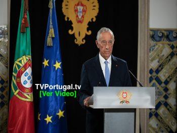 Mensagem do Presidente da República ao País sobre a segunda renovação do estado de emergência, Portugal, Televisão, Marcelo Rebelo de Sousa