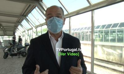 Programa de Máscaras Gratuitas em Transportes Públicos, Portugal, Carlos Carreiras, Televisão, Cascais, Carcavelos, Nuno Alves
