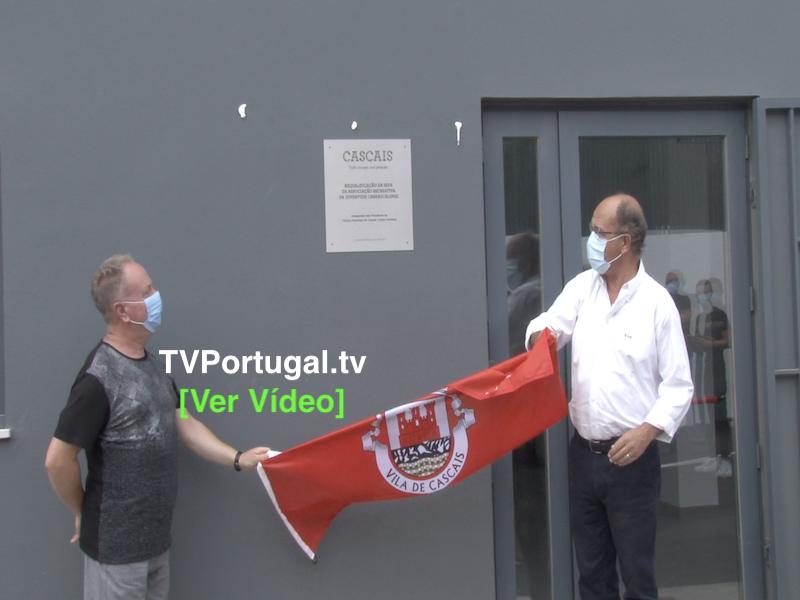 Inauguração das Obras de Requalificação do Carrascalense, Nuno Piteira Lopes, Rui Abreu, Carlos Carreiras, Portugal, Televisão, Cascais