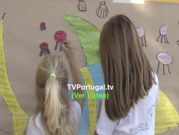 Pintura Criativa | EB1 do Cobre | UF Cascais Estoril, Tim Madeira, Pedro Morais Soares, Freguesia Cascais Estoril, Cascais