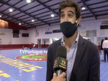 """Final de Mais uma Edição da Taça Cascais em Futsal, Frederico Nunes, Clube Desportivo e Recreativo """"Os Vinhais"""", Cascais, Desporto"""