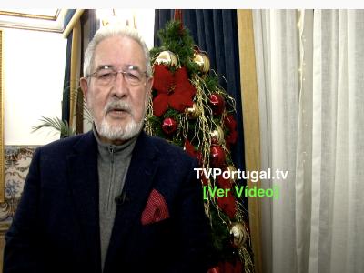 Mensagem de Ano Novo | Isaltino Morais, Presidente CM Oeiras, Portugal, Oeiras, Reportagem, Televisão, Francisco Rocha Gonçalves
