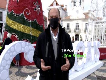 Mensagem de Ano Novo | Carlos Carreiras, Presidente CM Cascais, Portugal, Televisão, Reportagem, Mensagem Ano Novo