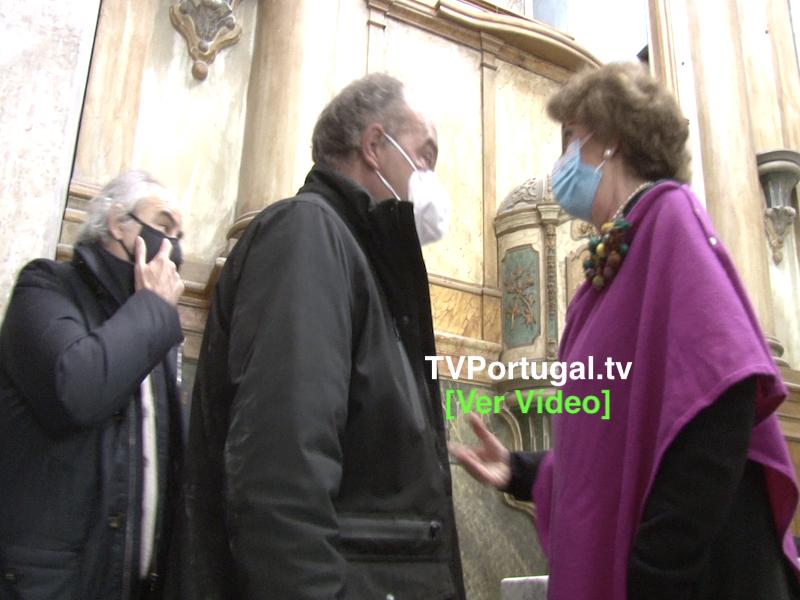 Início das Obras de Requalificação da Igreja da Misericórdia, em Cascais, Televisão, Portugal, Carlos Carreiras