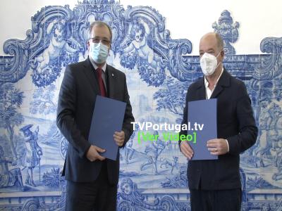 Assinatura de Protocolo | CM Cascais | INEM, Portugal, Televisão, Cascais, Carlos Carreiras, Reportagem, Câmara Municipal de Cascais