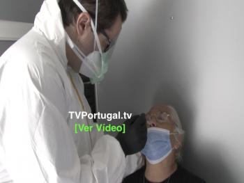 COVID-19   Oeiras Arranca com Testes em Massa Junto dos Munícipes, Portugal, Oeiras, Televisão, Reportagem, Testagem