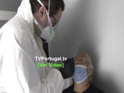 COVID-19 | Oeiras Arranca com Testes em Massa Junto dos Munícipes, Portugal, Oeiras, Televisão, Reportagem, Testagem