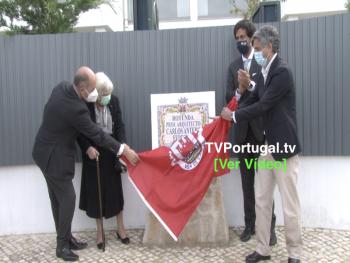 Placa Toponímica em Homenagem à Memória do Professor Arquitecto Carlos Antero Ferreira, Portugal, Televisão, Cascais