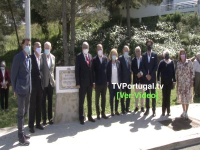 Descerramento da Placa Toponímica, Rotunda Embaixador José Fernandes Fafe, Portugal, Televisão, Cascais, Pedro Morais Soares