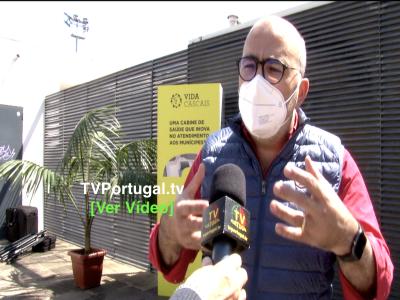 Inauguração da Cabine de Saúde | Vida Cascais, Portugal, Televisão, Cascais, Miguel Pinto Luz, Carlos Carreiras
