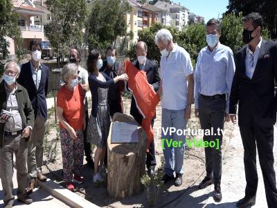 Inauguração dos Bosques da Ribeira dos Mochos e Outeiro dos Cucos, Portugal, Carlos Carreiras, Pedro Morais Soares, José Filipe Ribeiro