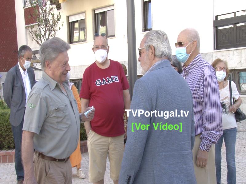 Inauguração da Requalificação do Passeio Vitorino Nemésio, Portugal, Televisão, Oeiras, Isaltino Morais, Reportagem