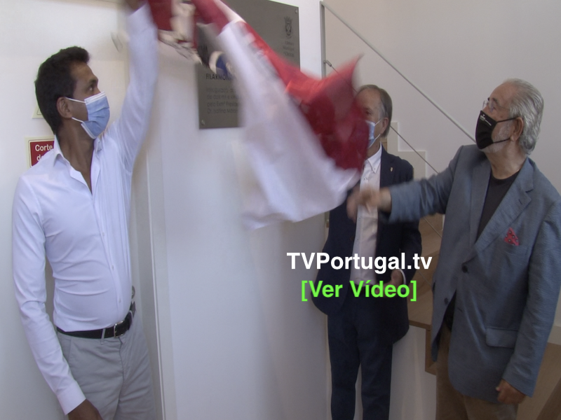 Inauguração das Obras de Recuperação e Ampliação da S.F. Fraternidade de Carnaxide, Portugal, Televisão, Oeiras