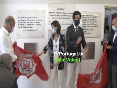 Orçamento Participativo | Requalificação da Área Operacional dos Bombeiros Voluntários de Cascais, Televisão, Portugal, Cascais