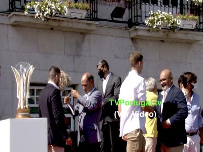 Câmara Municipal de Cascais Presta Homenagem ao Parede Foot-Ball Clube, João Salgado, Carlos Carreiras, Cascais, Portugal, Televisão